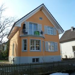 Fassadenrenovation Einfamilienhaus